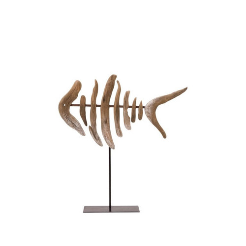 Fish in Sea Wood with Base