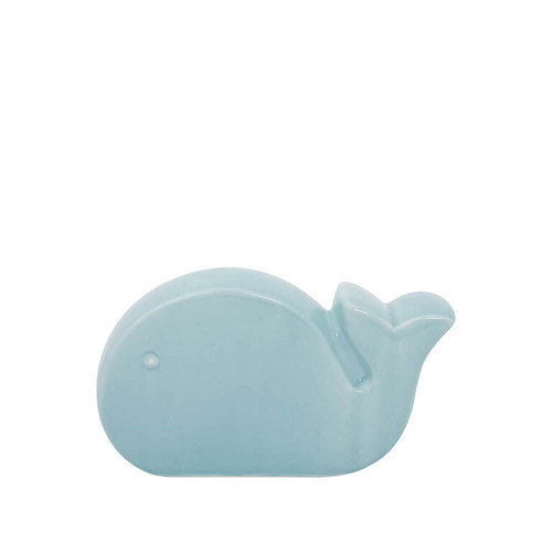 Light Blue Ceramic Whale
