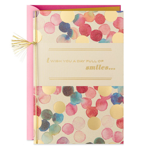 A Day Full of Smiles Birthday Card