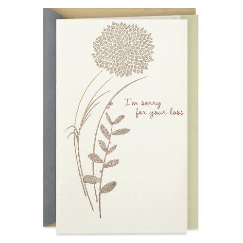 A Word of Friendship Sympathy Card