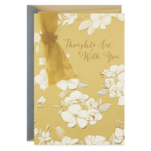 Comforting Thoughts Sympathy Card