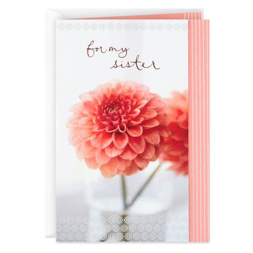 I'm Grateful You're in My Life Birthday Card for Sister