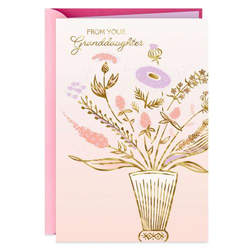 Grandma, You're Loving Birthday Card from Granddaughter