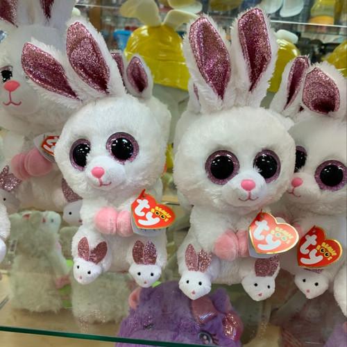 Sparkly Bunny Beanie Babies
