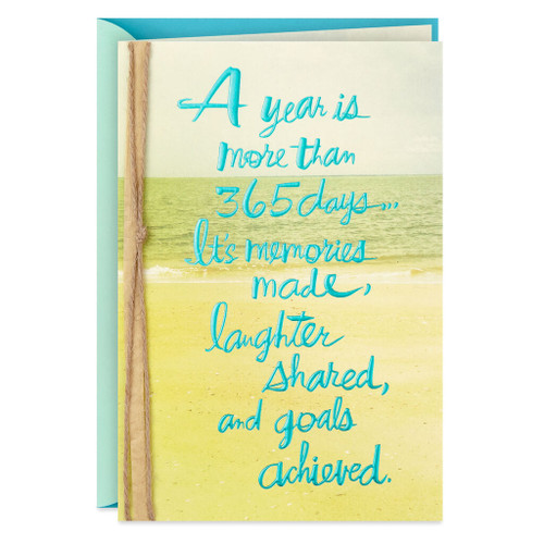 Memories, Laughter and Goals Birthday Card for Him