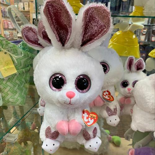 Large Sparkly Bunny Beanie Babies