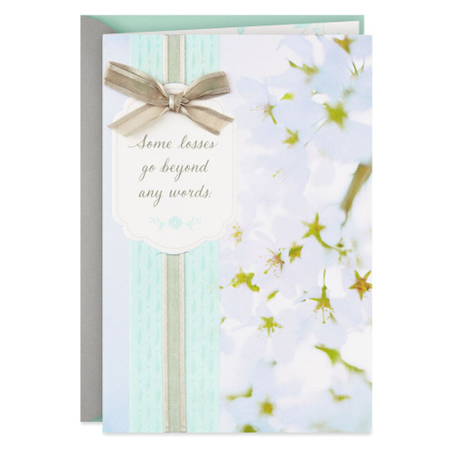Sending Prayers Religious Sympathy Card For Loss of a Child