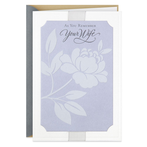 Your Enduring Love Sympathy Card for Loss of Wife