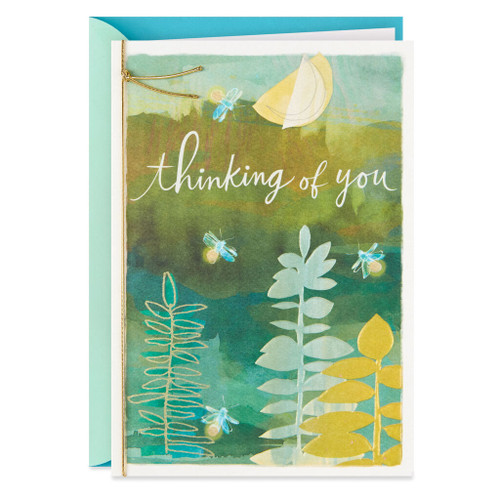Moon and Dragonflies Sympathy Card From Us