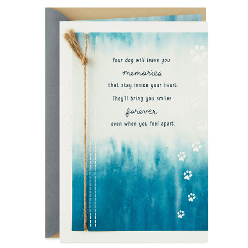 Never-Ending Love Sympathy Card for Loss of Dog