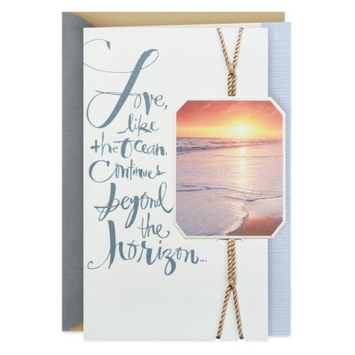 Beyond the Horizon Sympathy Card