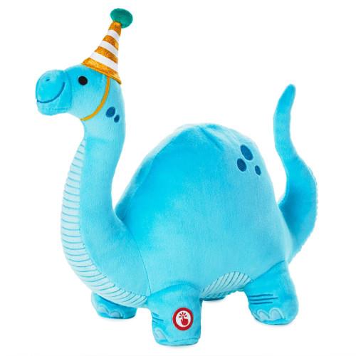 "Dino-mite Birthday Dinosaur Musical Stuffed Animal, 10"""