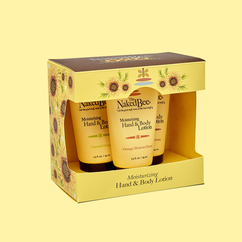 Hand and Body Lotion Trio
