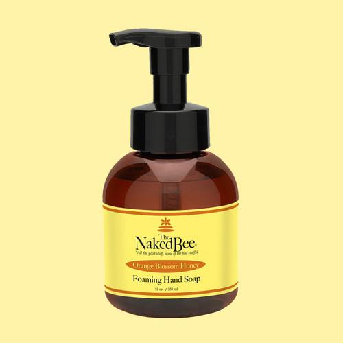 Orange Blossom Honey Foaming Soap