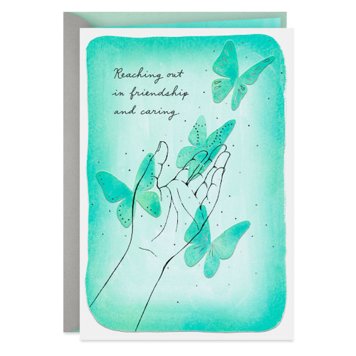 Reaching Out in Friendship Encouragement Card