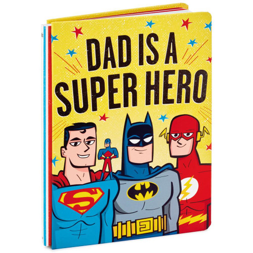 Dad Is a Super Hero Book