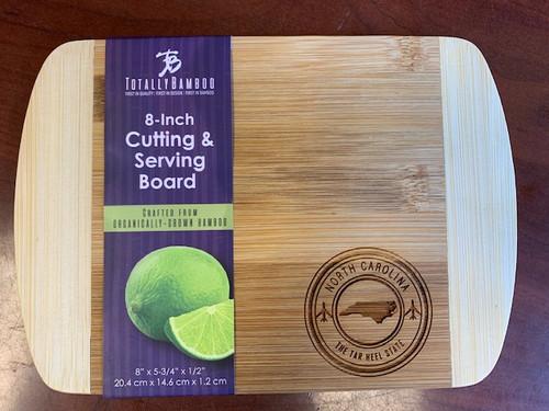 """Totally Bamboo 8"""" Cutting Board NC"""