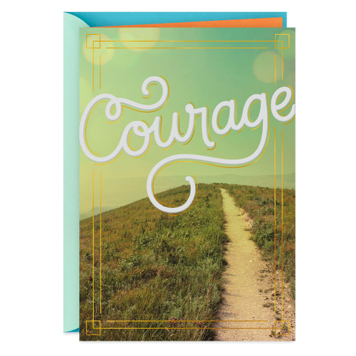Path of Courage Encouragement Card