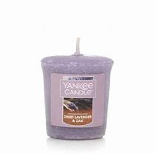 Yankee Candle Dried Lavendar & Oak Sampler Votive 1.75 oz