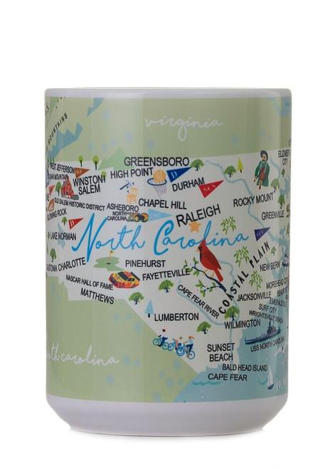 North Carolina - 15-oz. Ceramic Mug