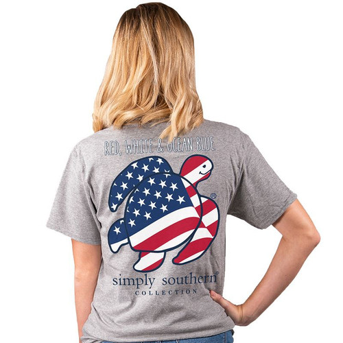Simply Southern - Red, White & Ocean Blue
