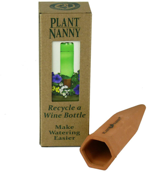 Recycle a Wine Bottle Stake