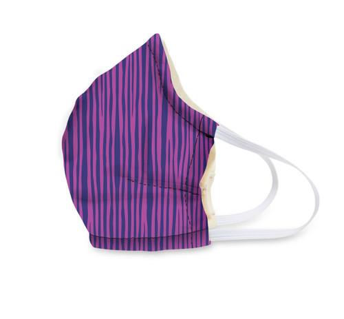 Vera Face Mask - Impressionista Stripe