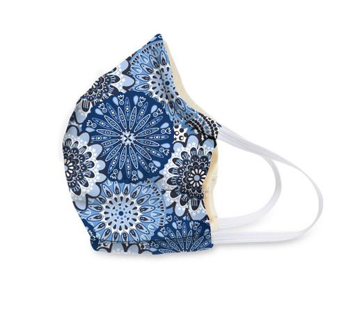 Vera Face Mask - Blue Star Medallion