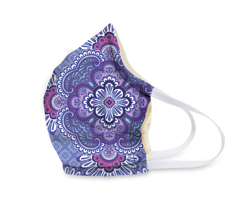 Vera Face Mask - Lilac Tapestry