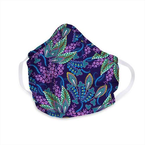 Vera Face Mask - Batik Leaves