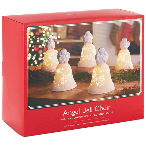 Angel Bell Choir Musical Decorations With Light