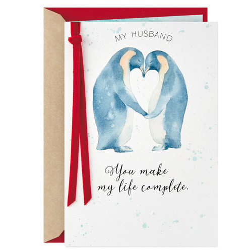 Valentines Card Bundle Preorder - Husband - Two Penguins
