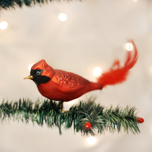 Large Red Cardinal Ornament