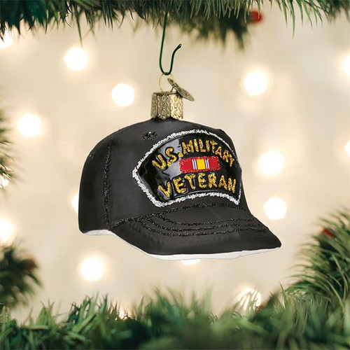 Veteran's Cap Ornament