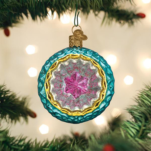 Faceted Sky Reflection Ornament
