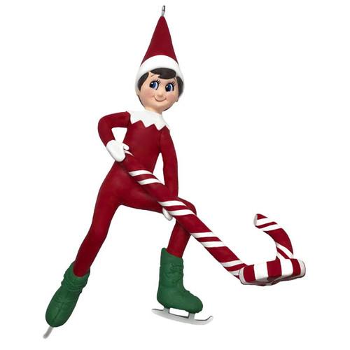 The Elf on the Shelf® Elf on Ice Hockey Ornament