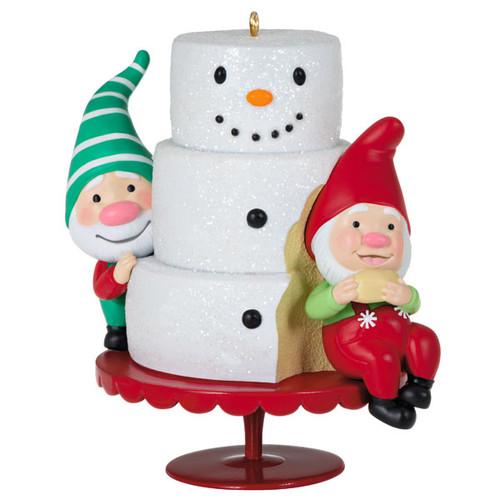 Gnome for Christmas Ornament