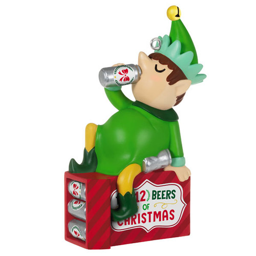 The Twelve Beers of Christmas Ornament