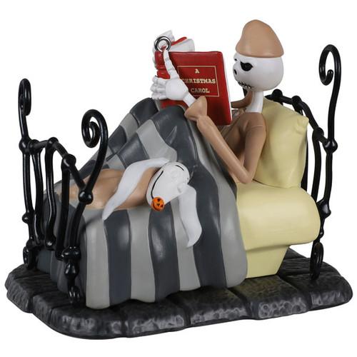 Disney Tim Burton's The Nightmare Before Christmas Bedtime Stories Jack Skellington Ornament