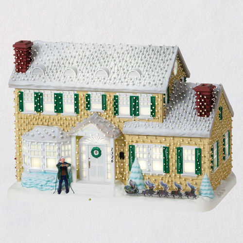 National Lampoon's Christmas Vacation™ Clark's Crazy Christmas Sound-A-Light Interactive Musical Tabletop Decoration With Light