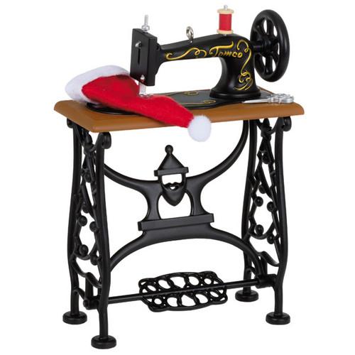 Sew Vintage Sewing Machine Ornament