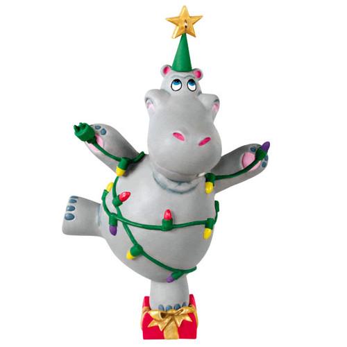 I Want a Hippopotamus for Christmas Musical Ornament (2021)