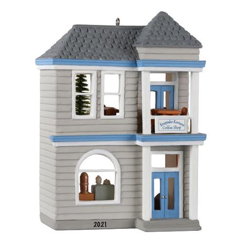 Nostalgic Houses and Shops Keepsake Korners Coffee Shop 2021 Ornament