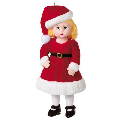 Madame Alexander Jolly and Joyful Wendy Ornament