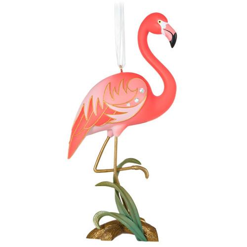 Fancy Flamingo Ornament