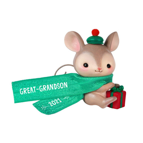 Great-Grandson Mouse 2021 Ornament