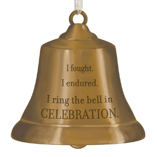 Cancer Survivor's Bell Metal Ornament Benefitting Cancer Research at Mayo Clinic®
