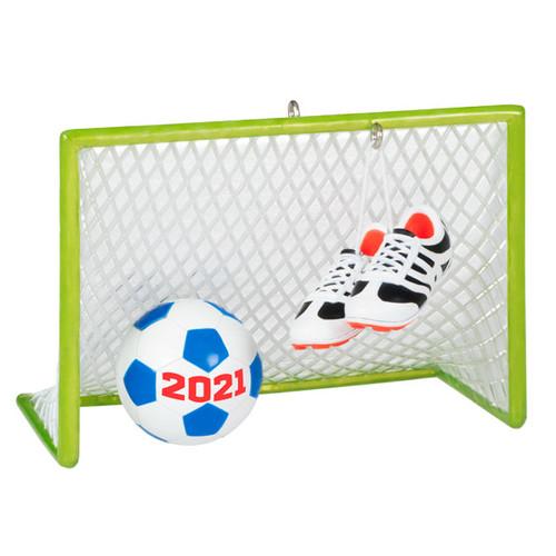 Soccer Star 2021 Ornament