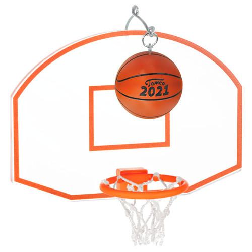 Basketball Star 2021 Ornament