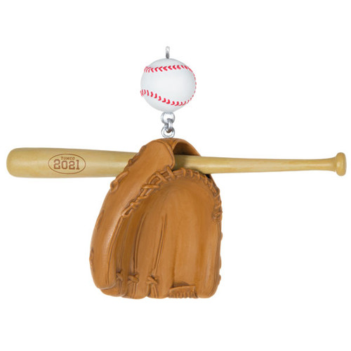 Baseball Star 2021 Ornament